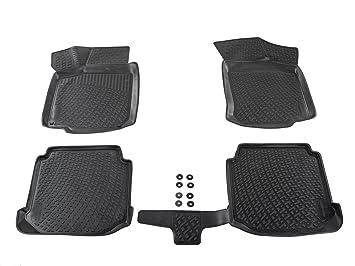 Kofferraumwanne Set für VW Passat CC ab 2009 3D Passform Gummi Fußmatten