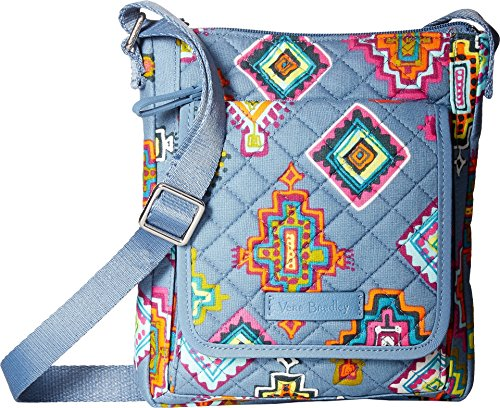 Vera Bradley Women's Iconic RFID Mini Hipster Painted Medallions Handbag