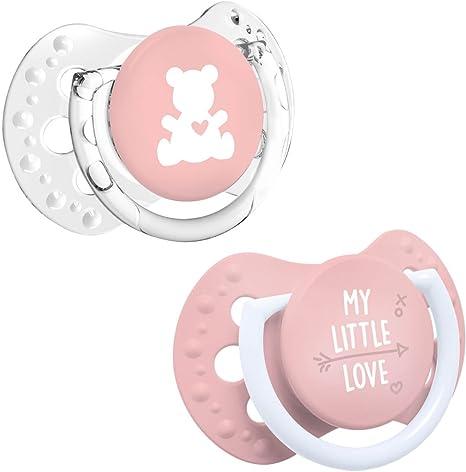 LOVI 2x Chupete Mini Silicona para Bebés de 0-2 meses | La Base ...
