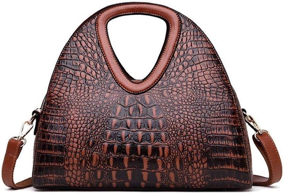 Leather Women Handbags Women Crocodile Pattern Leather Shoulder Bag Hand Ladies Bags Sac Main Femme Fashion Colore : Yellow
