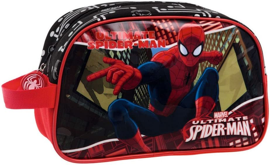 MarvelTrousse adaptable Spiderman Red City