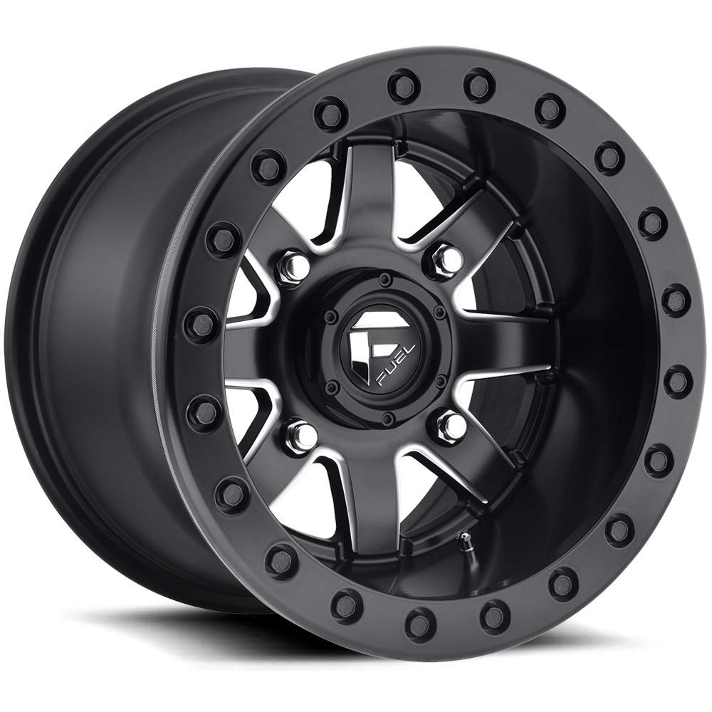 9 Items Bundle Fuel Maverick Beadlock 15 Wheels 32 Sand Stripper TT//XL Tires 4x137 Bolt Pattern 12mmx1.5 Lug Kit