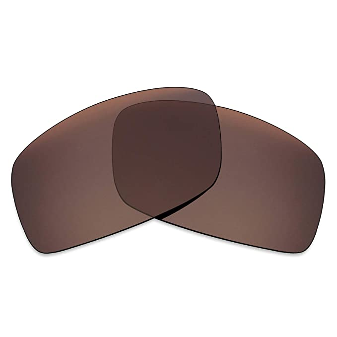 637faf183a5f Mryok Polarized Replacement Lenses for Oakley Square Wire 2 (2014) - Bronze  Brown