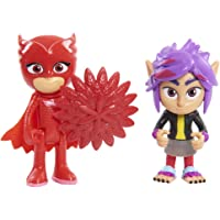 PJ Masks 2 Pack Figure Set - Owlette and Wolfie RIP