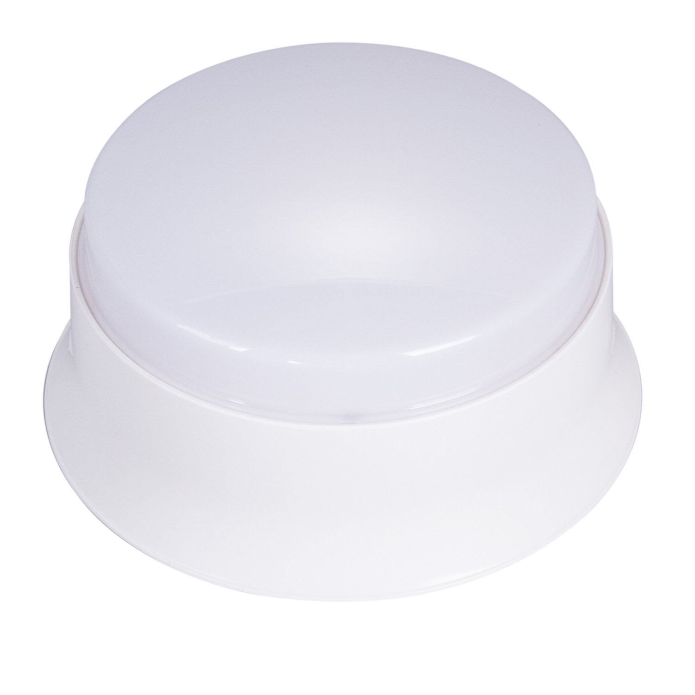 GOODSMANN Easy Spin LED Ceiling Light, 7 inch 11.5 Watt LED Ceiling Light 4000K Cool White 830 Lumens, Energy Star for Office/Hotel/Bedroom/Restroom/Walk in Closet/Washroom 9924-0011-07