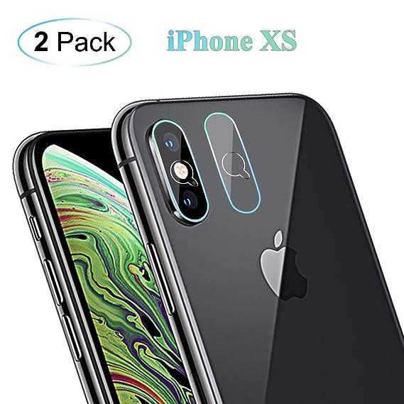wholesale dealer 034b6 4f9e3 Amazon.com: ORYCOOL 2 Pack iPhone Xs Max/XS/X Back Camera Lens Glass ...