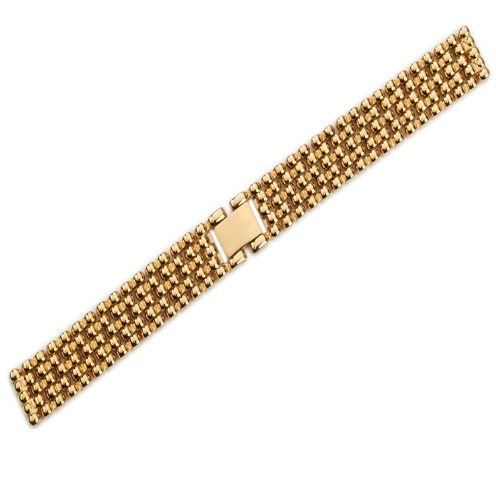 Watch Strap for Women's Stainless Steel Metal Replacement Band Bracelet 12mm Gold/ Silver/ Rose Gold