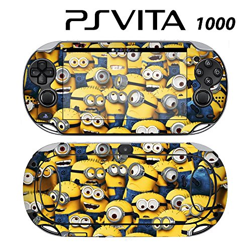 Decorative Video Game Skin Decal Cover Sticker for Sony PlayStation PS Vita (PCH-1000) - Despicable Me Minions (Despicable Me Game Playstation)
