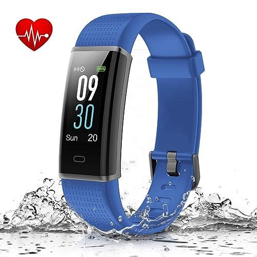 7. MUZILI Smart Band IP68 Waterproof Fitness Tracker