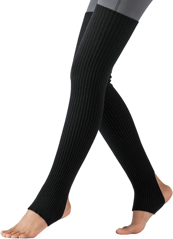 Yoga Socks Dance Pilates Ballet Brown Orange Blue Black Beige Azure Leg Warmers ankle warmers dancer