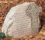"9.25"" Joseph's Studio Irish Blessing Religious Outdoor Garden Stone"