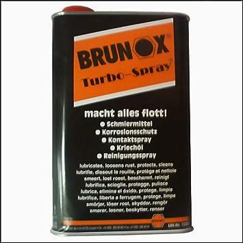 Turbo-spray para bicicleta Brunox | Limpiador para 5L Turbo Line lubricante de silicona: Amazon.es: Deportes y aire libre