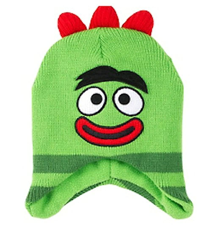 Yo Gabba Gabba HAT ボーイズ US サイズ: toddler カラー: グリーン B00RBSJ32A