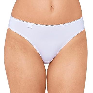 Original kaufen Super Qualität Abstand wählen Sloggi 6er Pack Damen Tai-Slip - Serie 24/7 Cotton 2+1 -Farbe Weiß, Schwarz  - Gr. 38 bis 48 - Damenslips aus Baumwolle + Elasthan