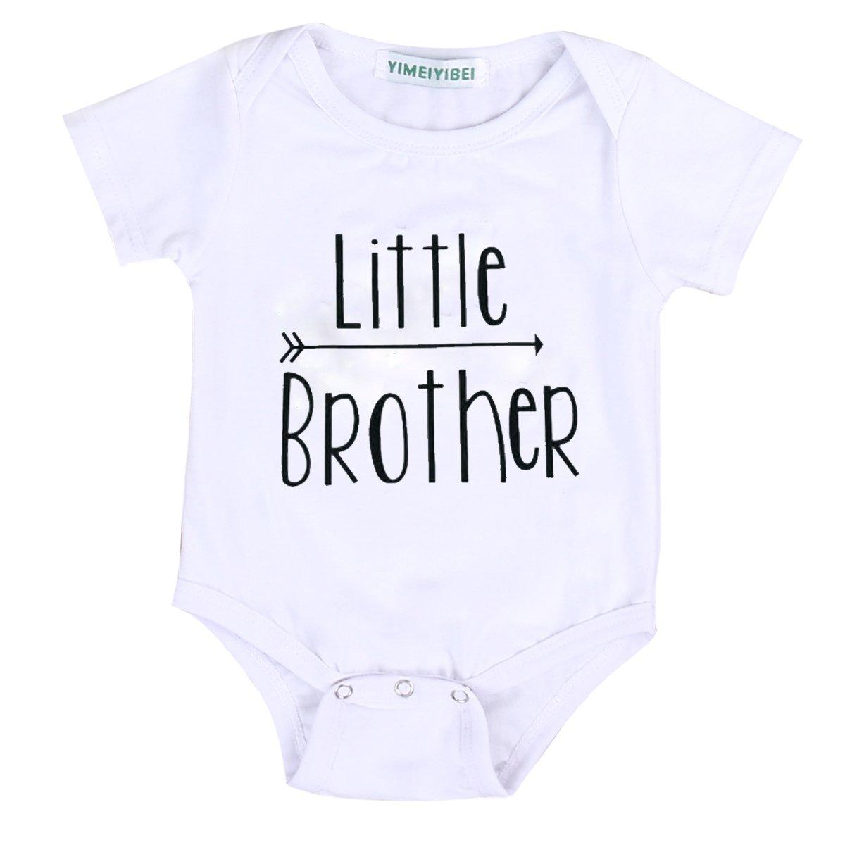 お手頃価格 Little Brother 6-12 & Big Brother & B06XZ5YNJF Little & Sister矢印パターン印刷ロンパース& TシャツTトップス 6-12 Months Little Brother B06XZ5YNJF, コスメコレクション:7d201aca --- a0267596.xsph.ru