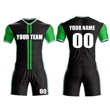 e9a6fd0da7e Custom Sport Jerseys - Make Your Own Soccer Jersey Set - Personalized Team  Uniforms (Black