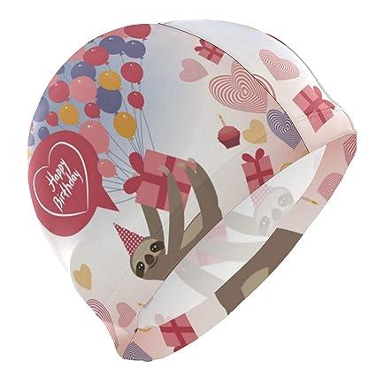 Amazon.com: Sloth Tarjeta de cumpleaños regalo globos ...