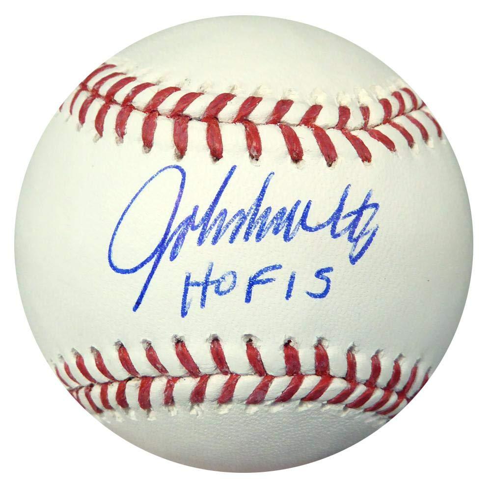 John Smoltz Autographed Official MLB Baseball Atlanta Braves'HOF 15' Stock #107001 - PSA/DNA Certified Mill Creek Sports