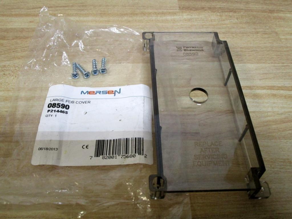 Mersen 08590 Safety Cover Kit Power Distribution Block