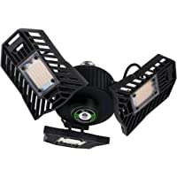 Qimedo 6000-Lumen 60-Watt Adjustable Deformable Led Garage Light