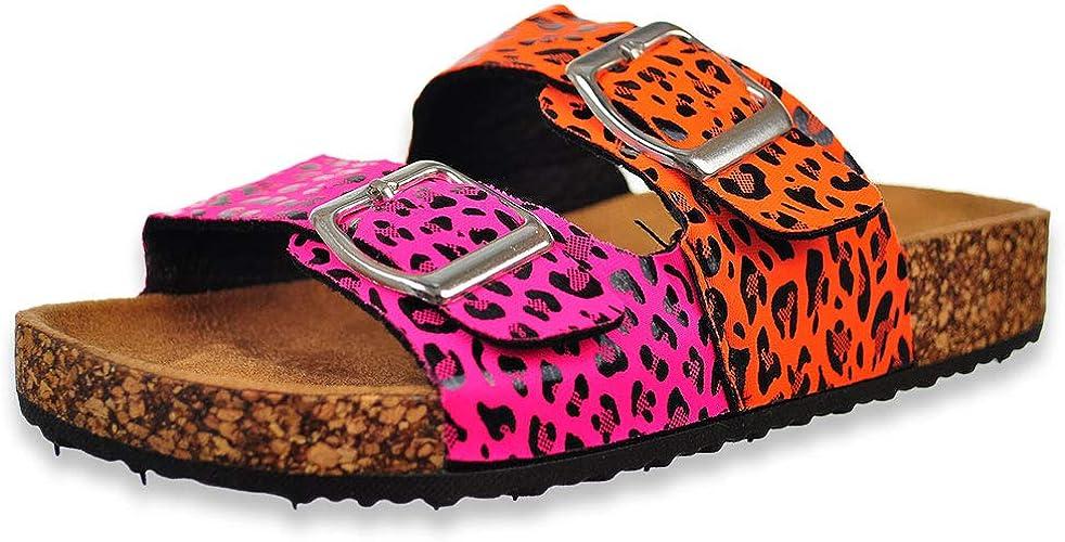Olivia Miller Cork Girls Neon Leopard