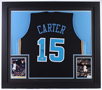the best attitude 8d4e5 b8c36 Vince Carter Autographed Signed North Carolina Tar Heels ...