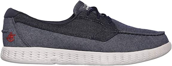 Skechers Mens On The Go Glide Coastline Cushioned Casual Boat Shoes