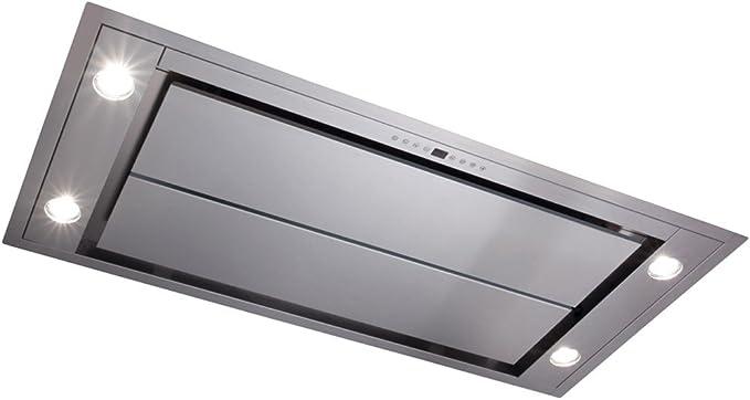 Campana extractora CDA de cocina para techo, modelo EVX101SS, con ventilador, de acero inoxidable, 100 cm: Amazon.es: Hogar