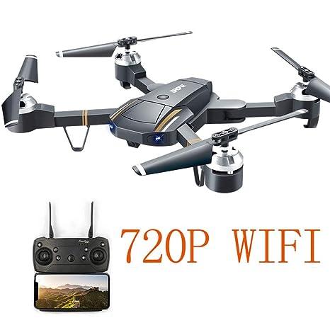 Drone Wifi FPV con cámara 720P HD, drones RC para principiantes ...
