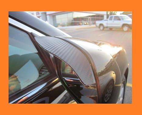 Amazon Com 2004 2009 Acura Tsx Black Carbon Fiber Side Mirror Visor