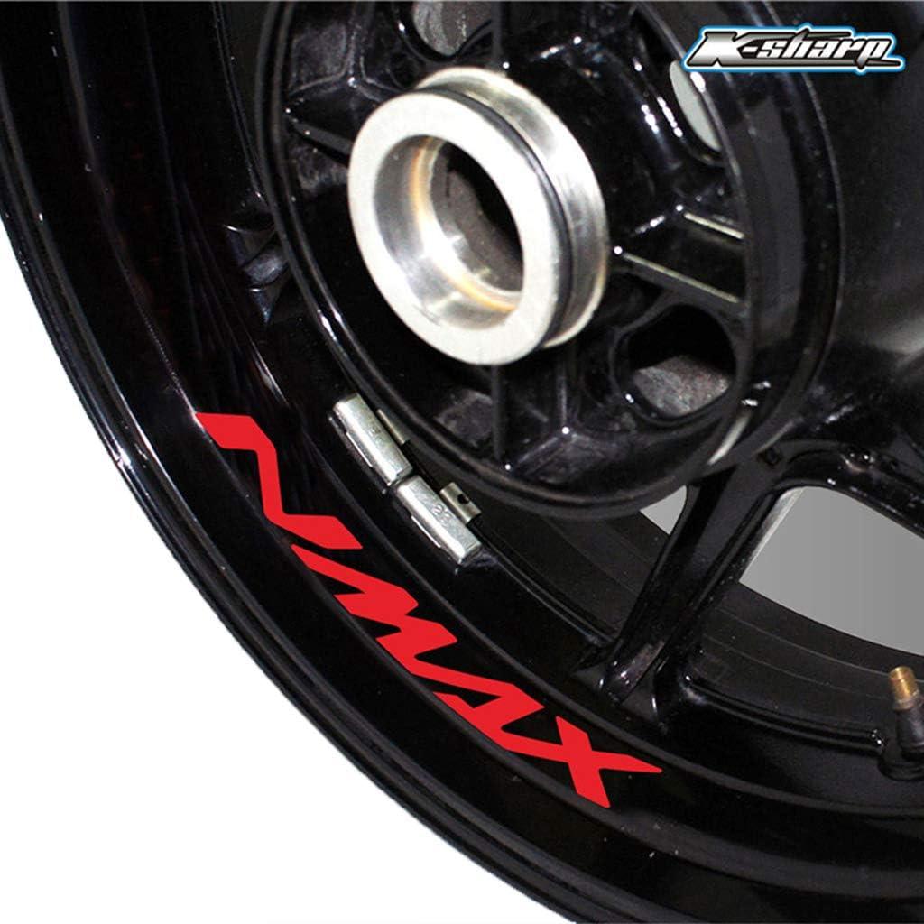 Moto Autocollant r/éfl/échissant Jante Autocollant de Roue pour Yamaha FJR 1300