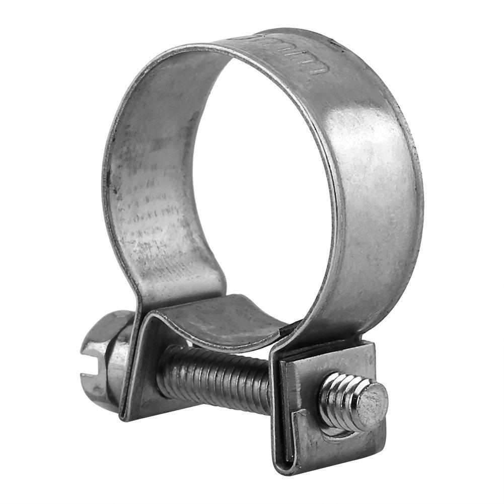 Fascetta stringitubo 18-20mm tubo in acciaio inox 10 pezzi Mini tubo flessibile per tubo di alimentazione Clip da 6 mm-20 mm Dimensioni opzionali