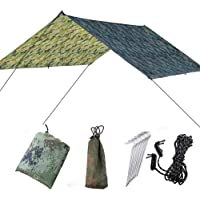 Doofang Waterdichte Camping Zon Onderdak Hangmat Regen Vlieg Val Tent Tarp Winddicht Sneeuwdicht Regen Dekzeil