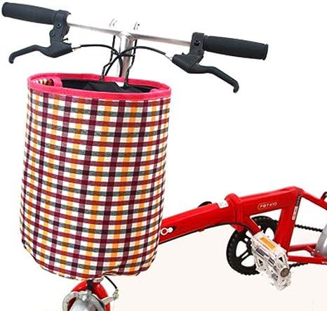YDGHD 1 paquete de cesta delantera para mascotas para llevar bicicleta de casa deportes plegable ciclismo duradero (Multicolor A): Amazon.es: Deportes y aire libre