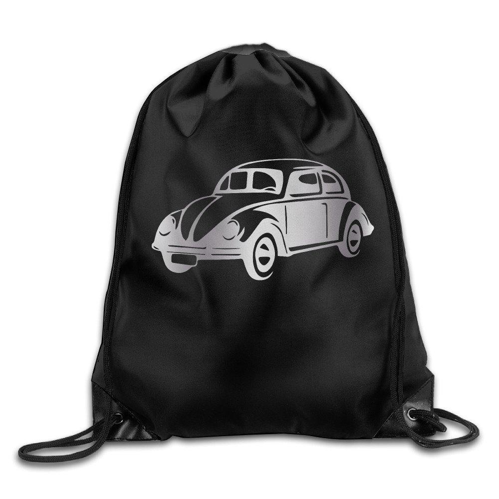 Volkswagon VW Platinum Style Drawstring Backpack Bag HITKF