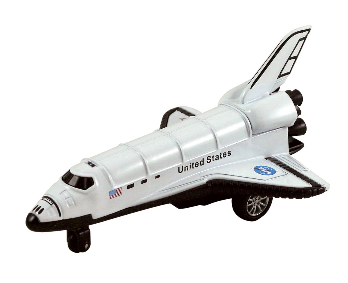 Space Shuttle, White - Showcasts 9869D - 5 Inch Scale Diecast Model Replica 9869D-SFA-WHITE