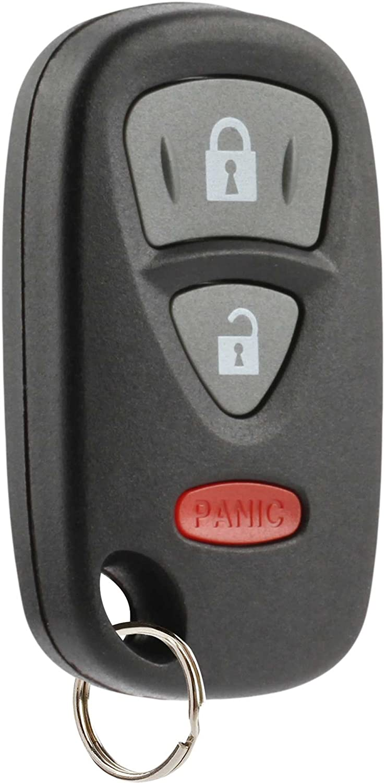 KBRTS005, 37180-64J00 Car Key Fob Keyless Entry Remote fits 2006-2013 Suzuki Grand Vitara Set of 2 USARemote 2007-2014 SX4