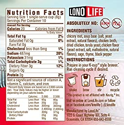 LonoLife Hearty Chicken Broth - 10 Count Snack - For your Keurig Style Brewer