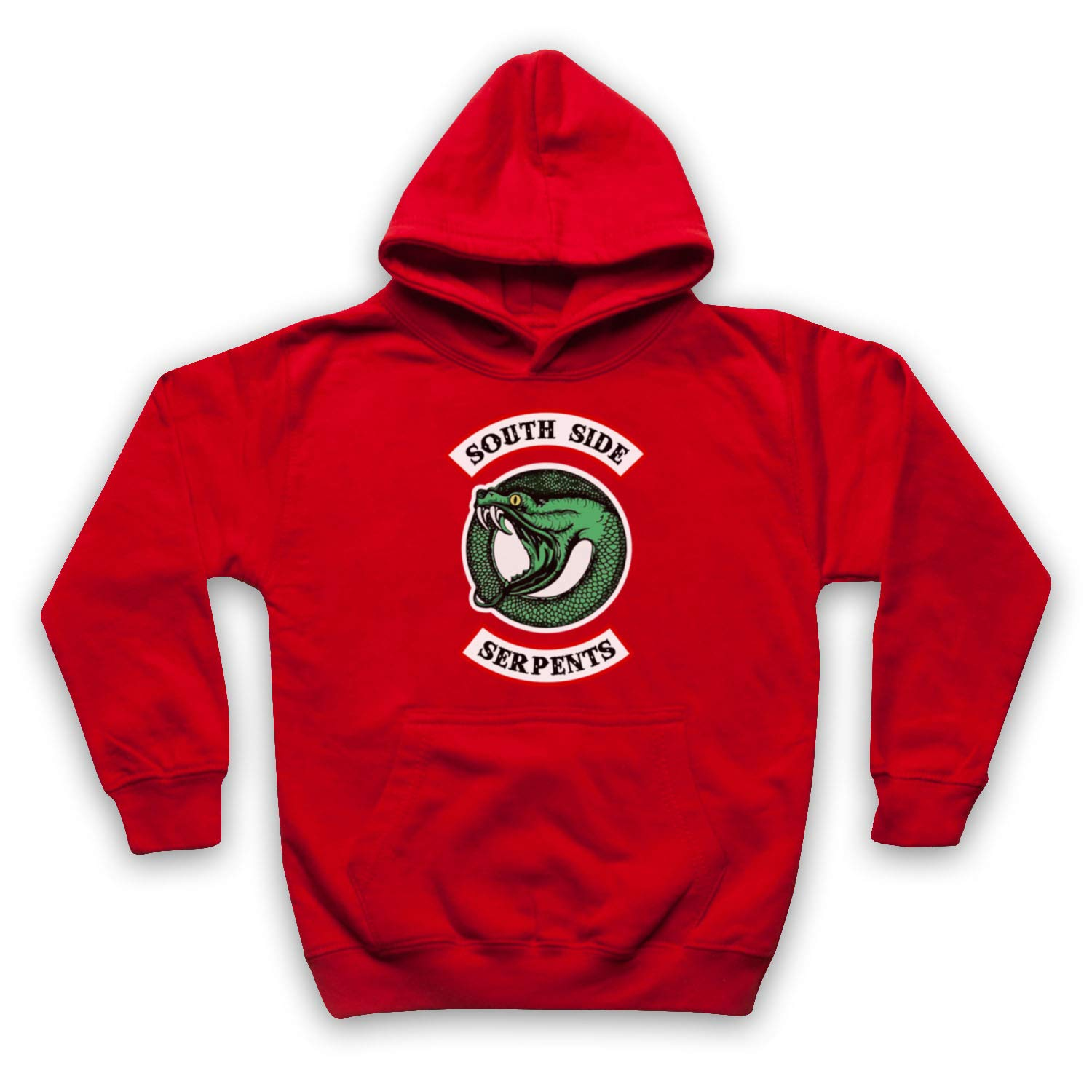 Inspired Apparel Inspired by Riverdale South Side Serpents Circle Logo Unofficial Kids Hoodie