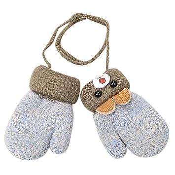 5b24d66cb43e Amazon.com  Baby Boy Girl Cute Cartoon Mittens Gloves Winter
