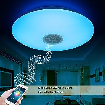 Autai Led Deckenleuchte Mit Bluetooth Lautsprecher: Amazon.De