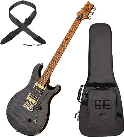 PRS CU4QTTWN SE Custom 24 - Guitarra eléctrica (madera de arce ...