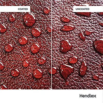 Leather Nano Coating Hendlex | Shoe Boot and Car Leather Seats Treatment Waterproof Protector Restores Color Hydrophobic Water Repellent Spray 100ml: Automotive