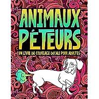 Animaux péteurs : un livre de coloriage décalé pour adultes