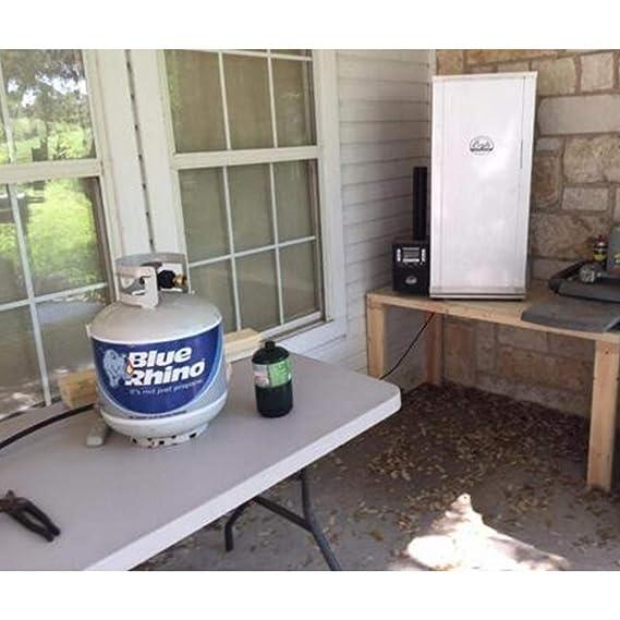 MICHAELA BLAKE Recarga de propano Adaptador del Cilindro de Gas del Tanque de Gas Conector Adaptador Conjunto de Accesorios Gas Bombona Kit de Recarga