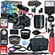 Canon EOS 80D Video Creator with 18-135mm Lens, Rode VideoMic + 64GB Class 10 UHS-1 SDXC Memory Card + LP-E6 Rechargeable Battery + Accessory Bundle