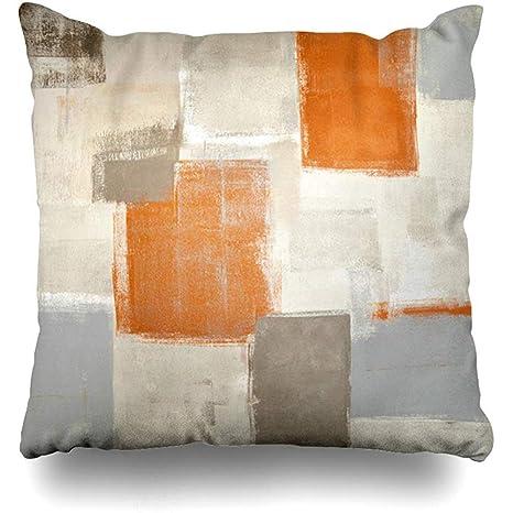 Cojines del sofá Funda de almohada cuadrada Contemporáneo ...