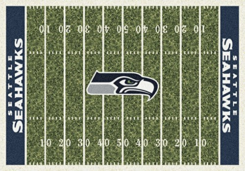 Team Home Field Area Rug by Milliken, 5'4