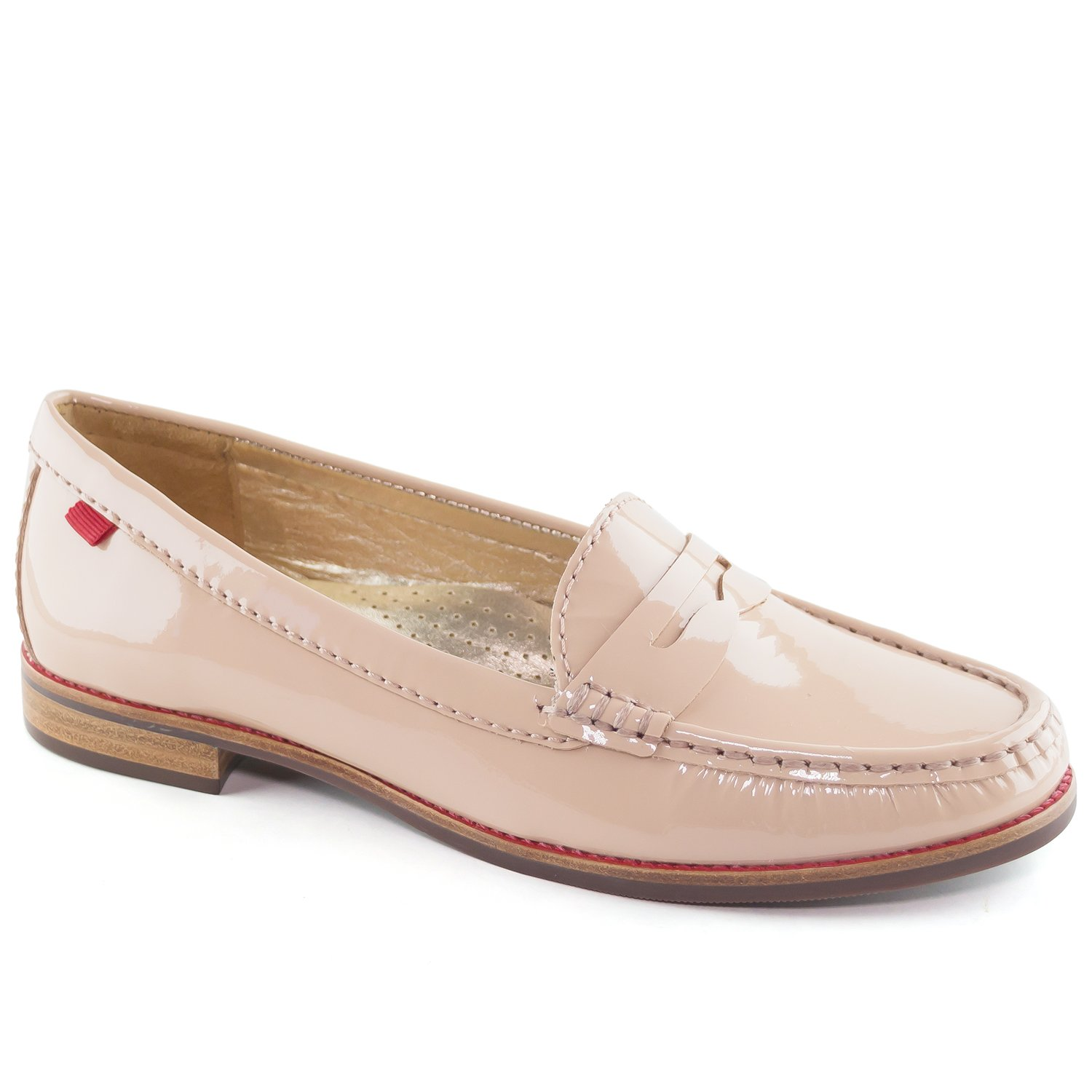 Marc Joseph New York Women's East Village Nude Patent Penny Loafer 8.5