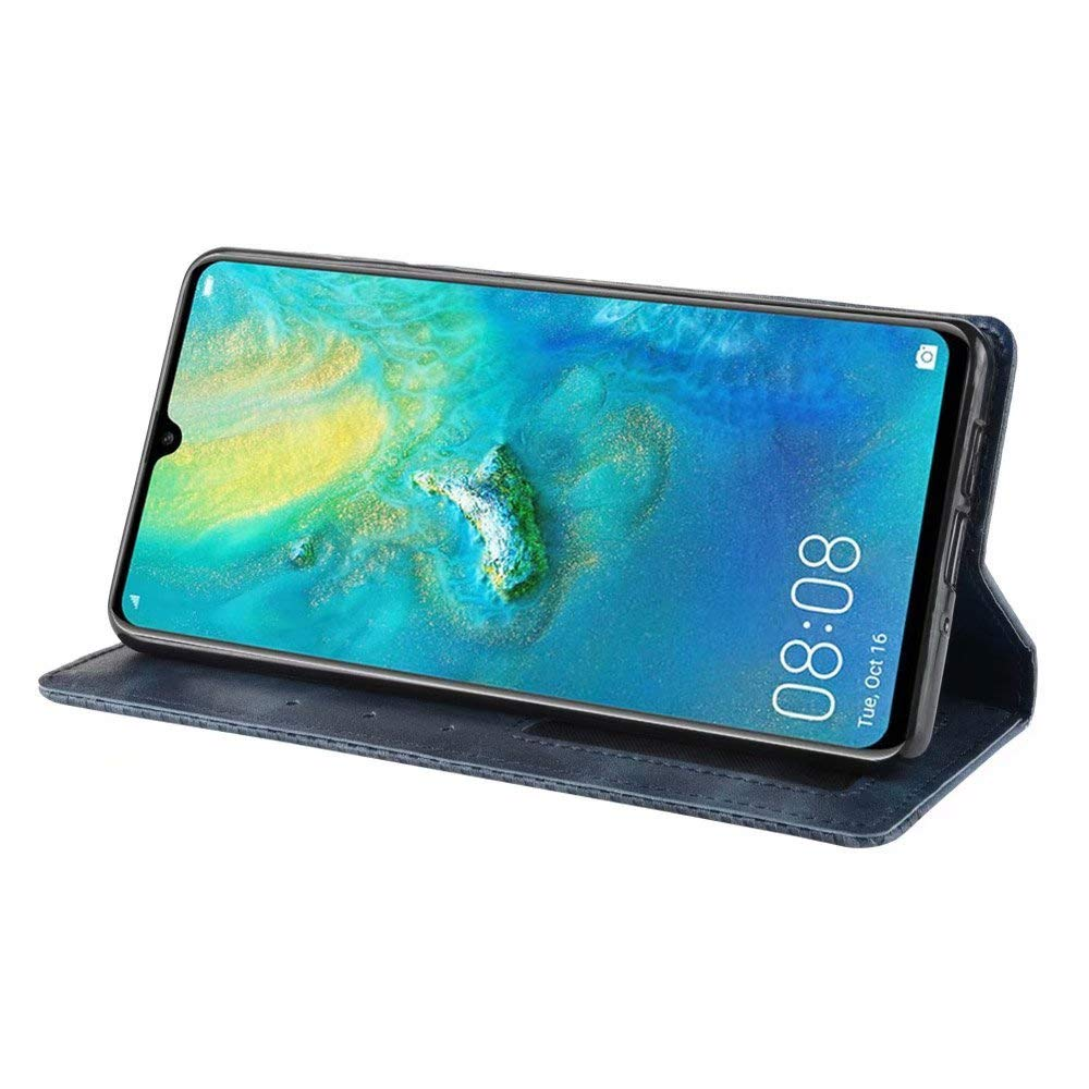 Rosa 1 * Vidrio Templado 360 Grados PC C/áscara de protecci/ón ,Resistente al Polvo y al Rayado Case FGXG Compatible para Funda Huawei P30 Caso +
